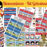 Blancanieves – Kit Candy Bar (Golosinas)