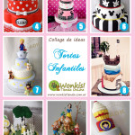 Tortas Infantiles: Collage de Ideas
