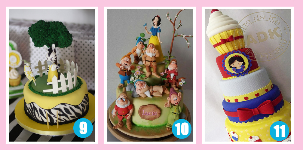 Tortas Infantiles Collage De Ideas