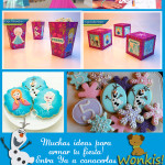 Fiesta Frozen: Collage de ideas