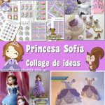 Fiesta Princesa Sofia: Collage de Ideas
