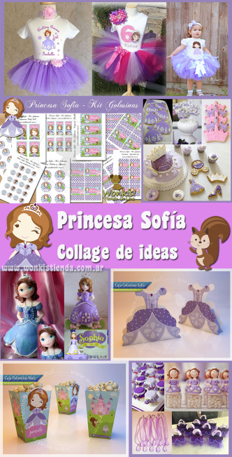 princesa sofia collage de ideas