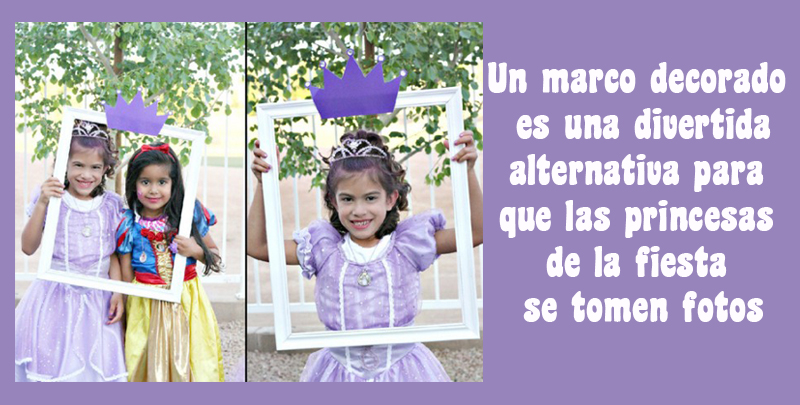 Fiesta Princesa Sofia: Collage de Ideas Deco