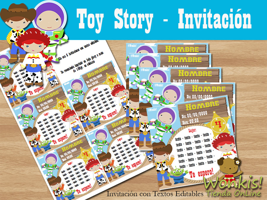 Toy Story Collage De Ideas