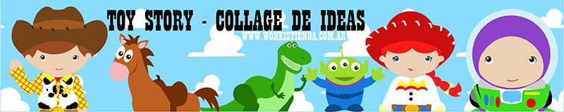 cabecera toy story collage de ideas