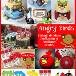 Angry Birds – Invitación Gratis! + Collage de Ideas