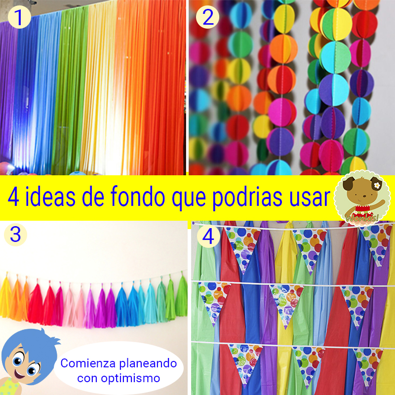 Fiesta intensamente collage de ideas - Ideas decoracion fiesta ...
